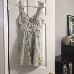 Mini skater dress